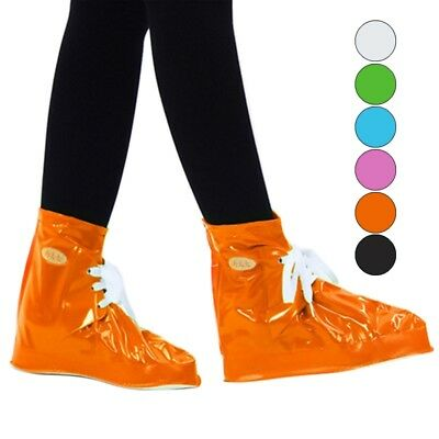 Rain Shoe Cover Rainproof Overshoes Lace-up Waterproof Boots Sneakers Protector
