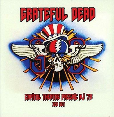 THE GRATEFUL DEAD ‎– CAPITOL THEATRE PASSAIC NJ '78 3CDs (NEW/SEALED)