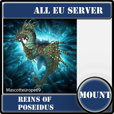 World of warcraft wow mount /poseidus/ All EU Servers/ /
