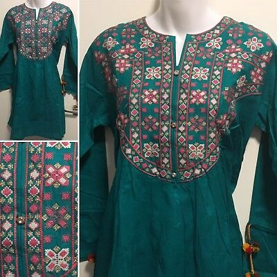 Embroidered traditional style Kurti/Top/Shirt