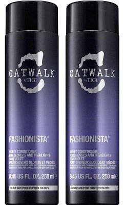 Tigi Catwalk Fashionista Violet Conditioner 8.4 oz. ( 2 PACK)