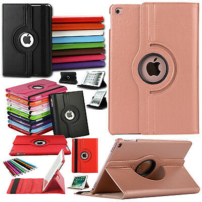 Revolving 360 Rotate Smart Stand Leather Case Cover For Apple iPad PRO 9.7/10.5