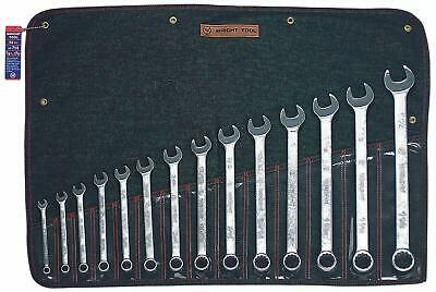 Wright Tool 714 Wrightgrip 14-Piece 12-Point Combination Wrench Set