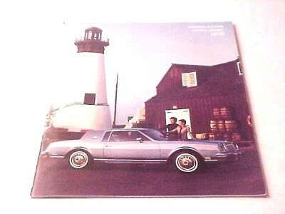 1978 GM General Motors 34 Page Annual Report