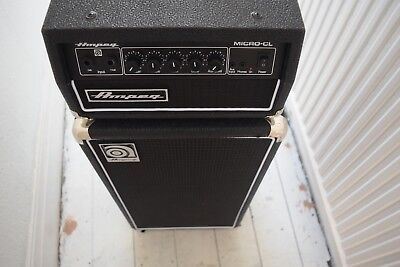 ampeg micro CL 100w stack bass amp