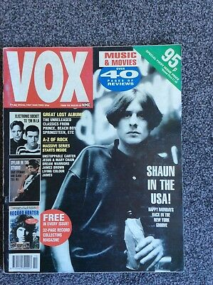 "First 5 Issues of ""VOX "" A Musical Magazine From 1990/1991"