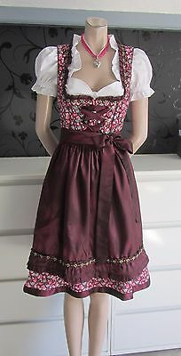 SALE NEW German Austrian 3pc. Dirndl Dress Blouse Apron  4