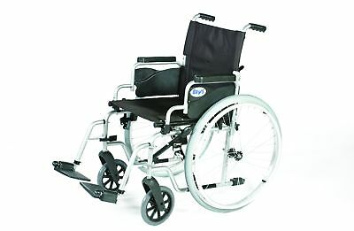 Days Whirl Self Propelled Wheelchair Folding Quick Release Wheels -5 Seat Widths