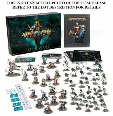 Warhammer Age of Sigmar Soul Wars starter set Units - select one or more