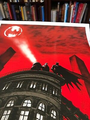 Tim Doyle Batman Gotham Police Department Art Print Signed A/P