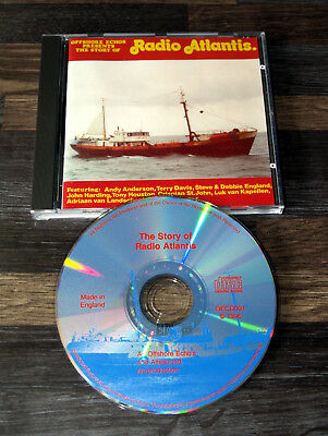 Pirate Radio Radio Atlantis Story (CD) from Offshore Echoes