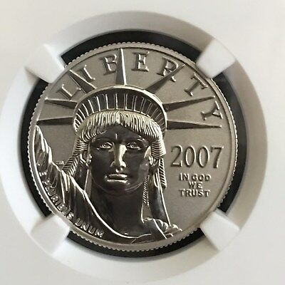 2007-W $50 Reverse Proof Eagle 10th Anniversary Set - Official US Mint Set PF 70