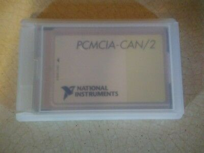 National Instruments PCMCIA-CAN/2 PC Card 2-Port CAN Interface