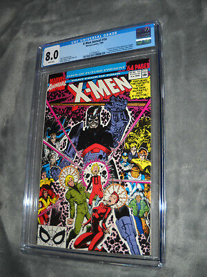 Marvel Comics X-Men Annual 14 Cgc 8.0 White Pages 1St Gambit