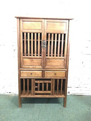 Old Oriental Chinese Wedding Cabinet - Can Deliver
