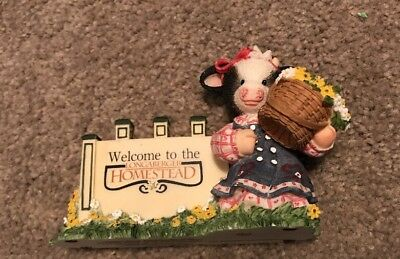 Mary's Moo Moos From Our Hearts To You A Little Moo And Daises Too Longaberger