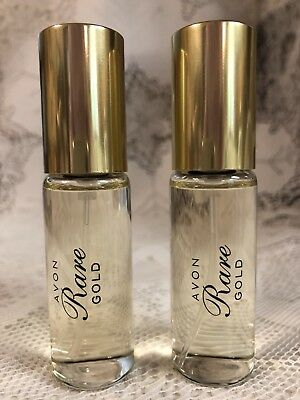 Avon Rare Gold Perfume Travel / Trial Sz, Lot Of 2 ~ No Box ~  Bubble Wrapped
