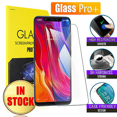 Tempered Glass LCD Screen Protector Film Guard For Xiaomi Mi 8