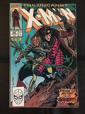 The Uncanny X-Men #266 (Aug 1990, Marvel) 9.0 VF/NM - 1st full Gambit