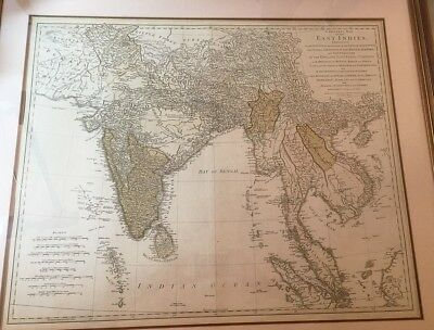um 1770 /Thomas Jeffery /A general map of the East Indies/