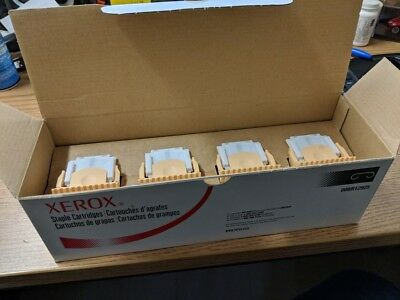 New Box of 4 Xerox Staple Cartridges 008R12925 or 8R12925 - Free Fast Shipping!