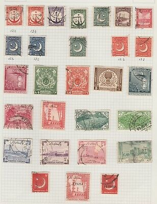 Stamps - Pakistan - from 1948 - Perforation varieties and Overprints