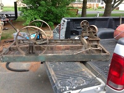 Antique Railroad Push Cart 1800's
