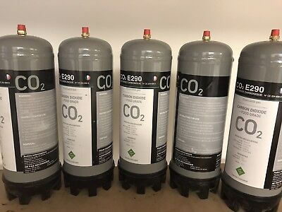5x CO2 gas bootle 220 ltr
