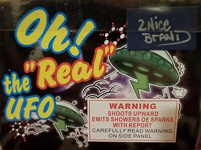 Firework Label Oh! The Real Ufo Boom