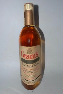 WHISKY GRANT´S STAND FAST FINEST SCOTCH WHISKY WILLIAM GRANT & SONS AÑOS 60 75cl