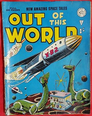 OUT OF THIS WORLD 1 ALAN CLASS 1965 PREMIER ISSUE AR Rare