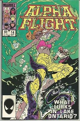 Alpha Flight #14 : Marvel Comics : September 1984
