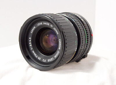 Canon FD 35-70mm f/4.0 Zoom Lens for Canon AE SLR film Cameras #1532