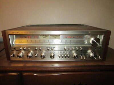 Vintage Pioneer SX-1050 Stereo Receiver Powerhouse Monster Babied 100% Working