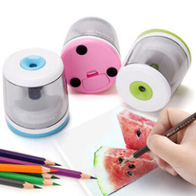 Stationery Automatic Cutting Tools Battery Operated Electric Pencil Sharpener