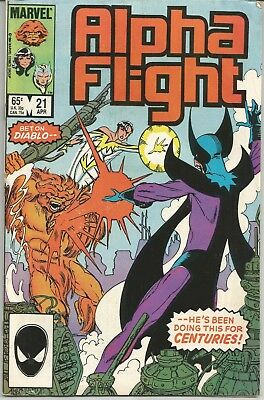 Alpha Flight #21 : Marvel Comics : April 1985