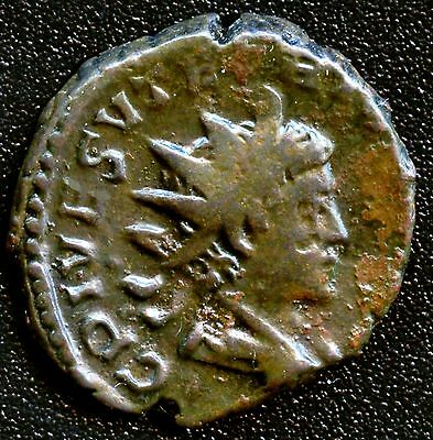 "Ancient Roman Coin "" Tetricus II "" 270 - 273 A.D. REF# S3090 19 mm Diameter"