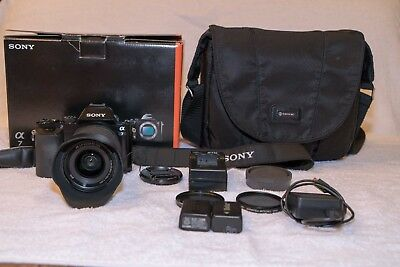 SONY Alpha a7 24.3MP Digital Camera with FE OSS 28-70mm Lens - great condition!