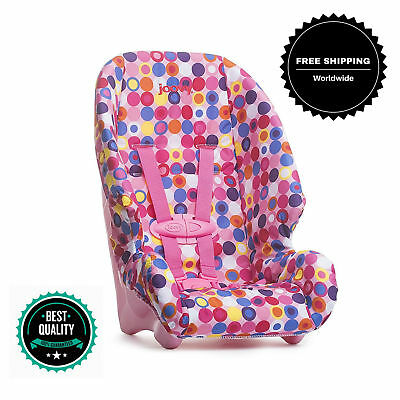 Doll Toy Car Seat Pink Dot Reborn Baby Washable Fabric Infants Easy Carries