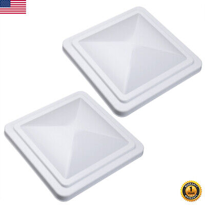 "Roof Vent Cover RV Camper Motorhome Trailer Cargo Replacement Lid 14x14"" Vent US"