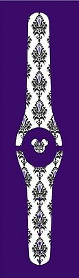 For Disney Magic Band 2 Decal Stickers Skin Halloween Haunted Mansion Inspired