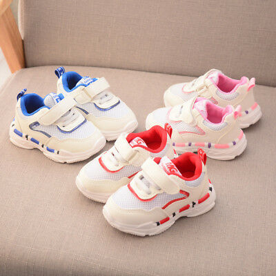 Child Boys Girls Baby Toddler Mesh Sports Running Shoe Kids Infant Casual Shoes