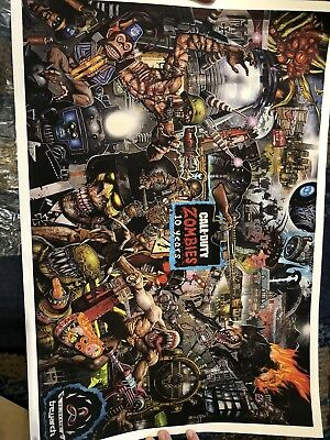 Call Of Duty 4 Zombies Sdcc 2018 San Diego Comic Con Poster