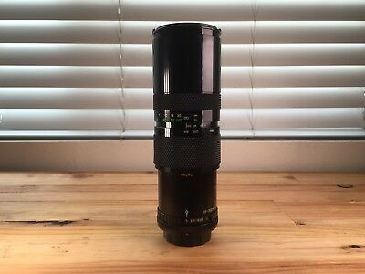 Soligor Zoom 85-300mm F5 Manual Focus Zoom Lens For Canon FD