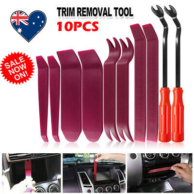 10pcs Car Auto Body Door Panel Console Dashboard Trim Removal Plastic Tools Kit