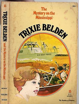 Vintage 1977 TRIXIE BELDEN AND THE MARSHLAND MYSTERY #10 - KATHRYN KENNY