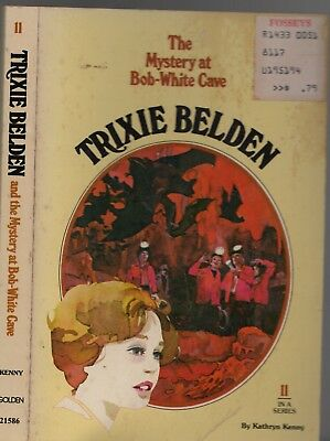 Vintage 1977 TRIXIE BELDEN AND THE MYSTERY AT BOB-WHITE CAVE #11 - KATHRYN KENNY