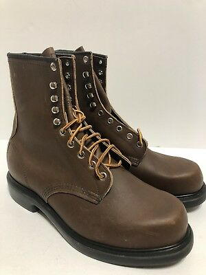 """Red Wing 953 Supersole Elctrical Hazard Boots Size 9 Eee 8"""" Brown"""