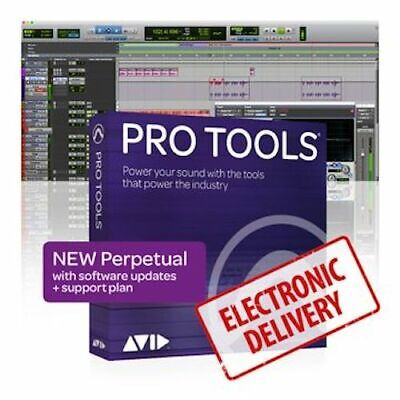 New ​Avid Pro Tools Perpetual License with 1 Year Update 9938-30001-00 eDelivery