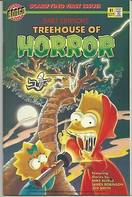 Bart Simpsons Treehouse of Horror #1 : Bongo Comics : 1993